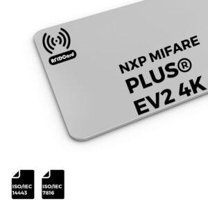NXP MIFARE Plus®EV2 4k RFID Card