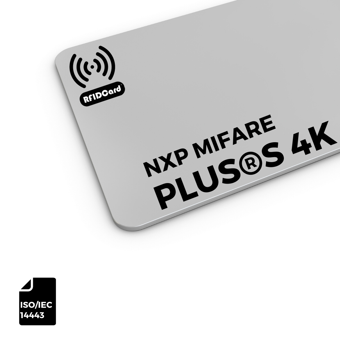 NXP MIFARE Plus®S 4k RFID CARD