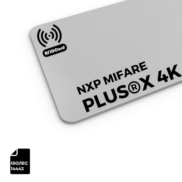 NXP MIFARE Plus®X 4k RFID CARD