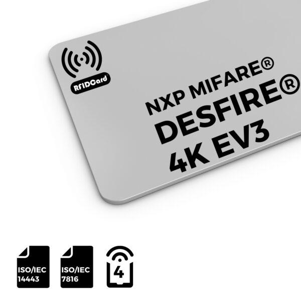 RFID NFC Card NXP MIFARE®DESFire®4k EV3