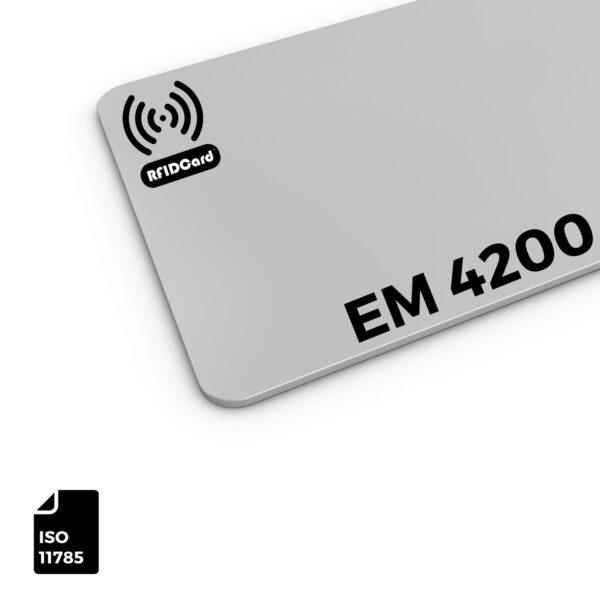 RFID Card Low Frequency IC EM 4200