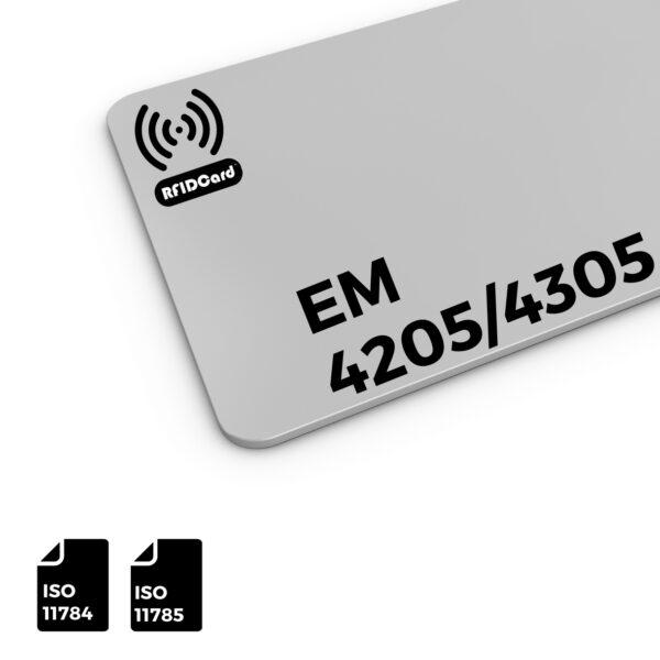 RFID Card Low Frequency IC EM 4205 4305