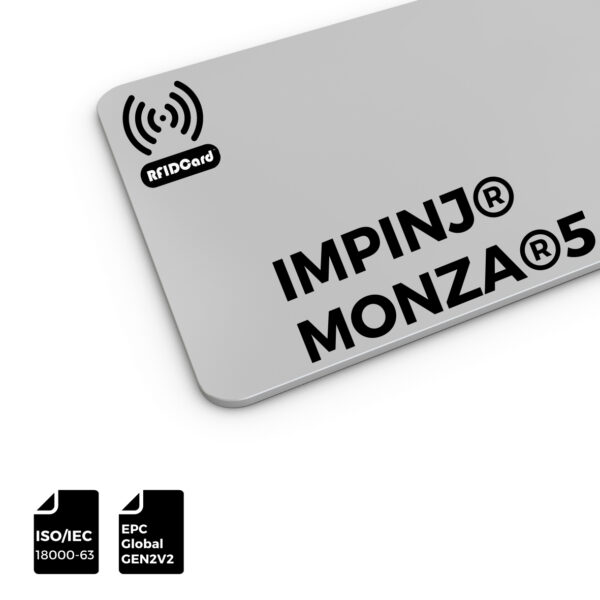 RFID Card IMPINJ®UHF MONZA®5