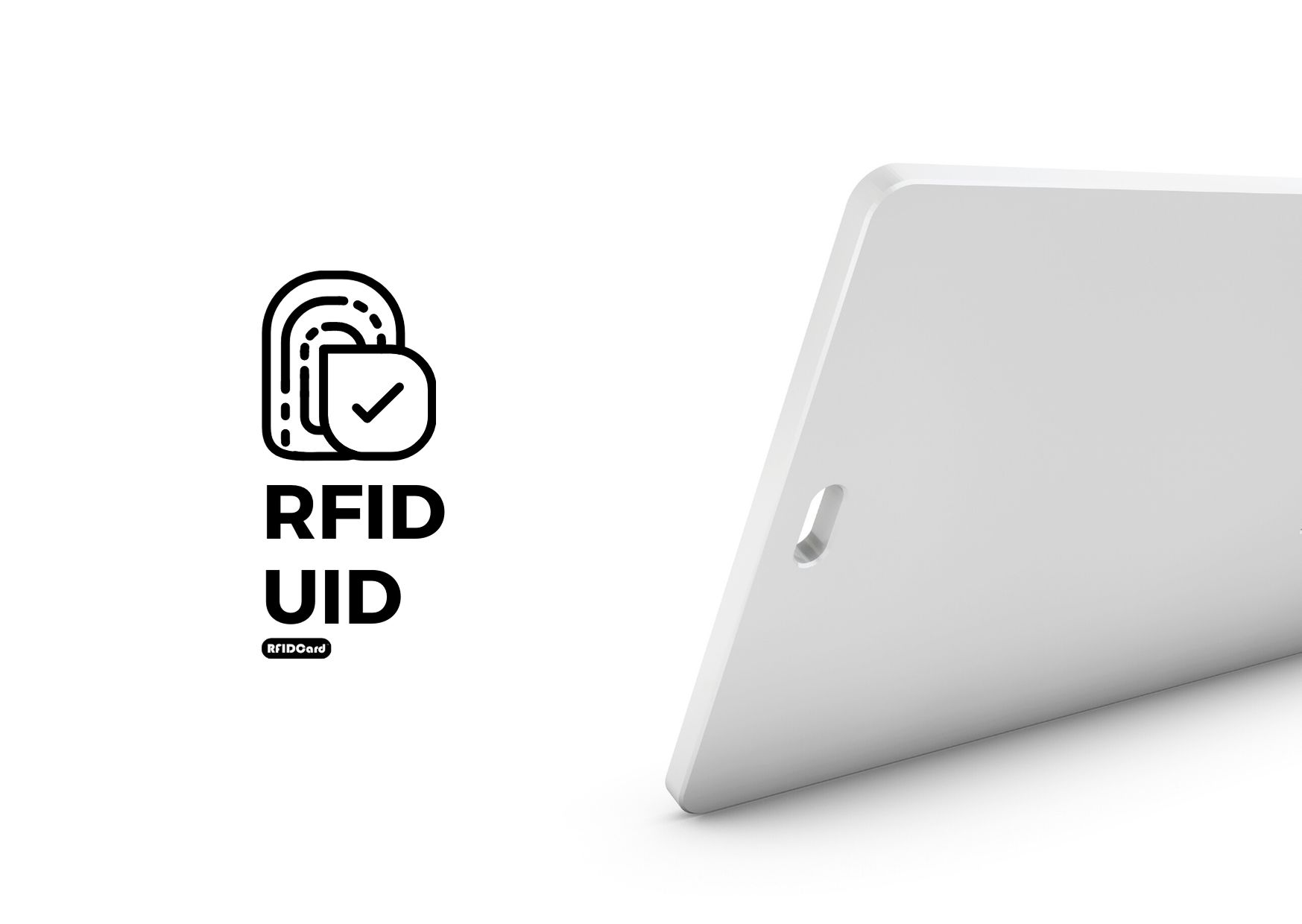 Types of UID in contactless RFID card systems