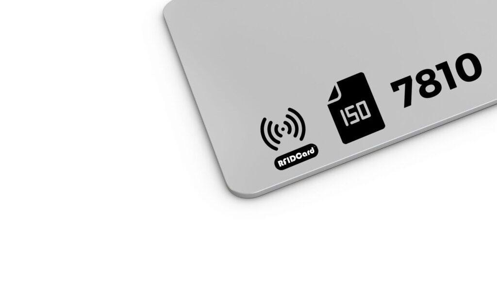 ISO IEC 7810 RFID CARD