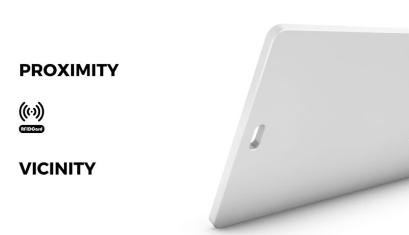 Difference for proximity card and vicinity card