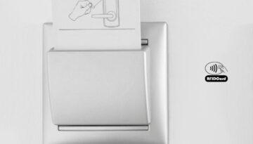 RFID Hotel Key Card for Salto Locks