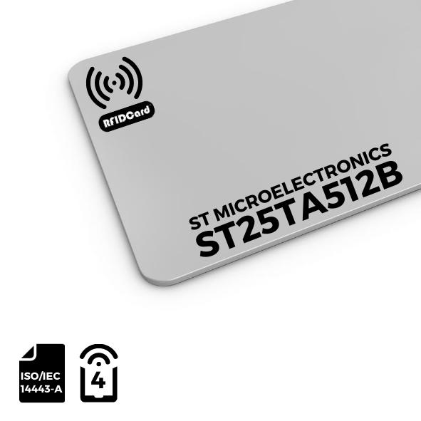 NFC Card ST Microelectronics ST25TA512B