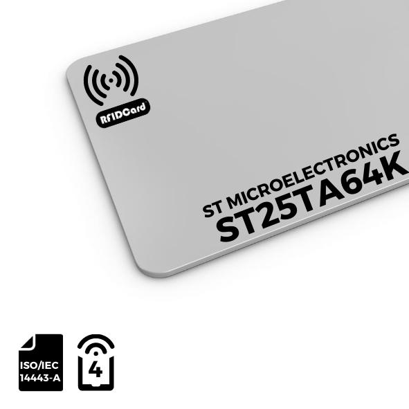 NFC Card ST Microelectronics ST25TA64K