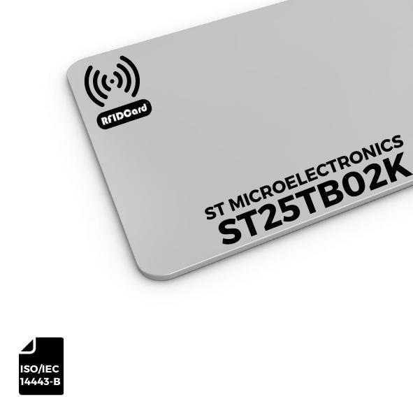 NFC Card ST Microelectronics ST25TB02K