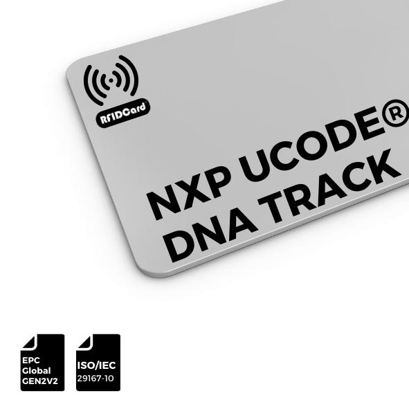 RFID CARD UCODE® DNA Track