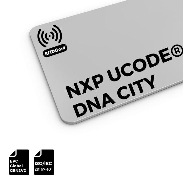 RFID Card UHF NXP UCODE®DNA City