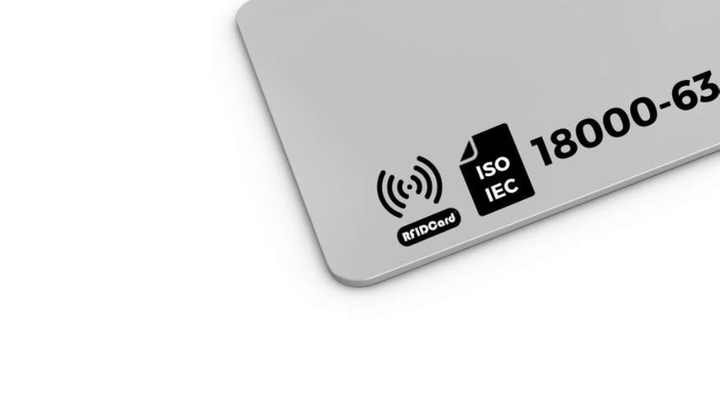 ISOIEC 18000-63 Parameters for air interface communications at 860 MHz to 960 MHz Type C