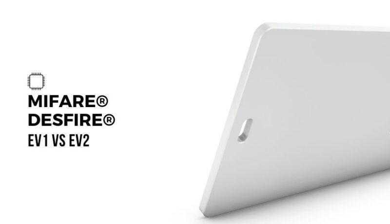 MIFARE DESFire cards comparison EV1 vs EV2