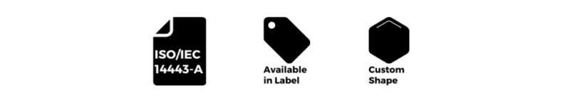 MIFARE CLASSIC RFID TAG
